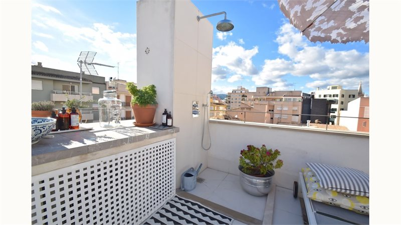 Living area: 65 m² Bedrooms: 2  - Penthouse in Palma Santa Catalina #12896 - 5