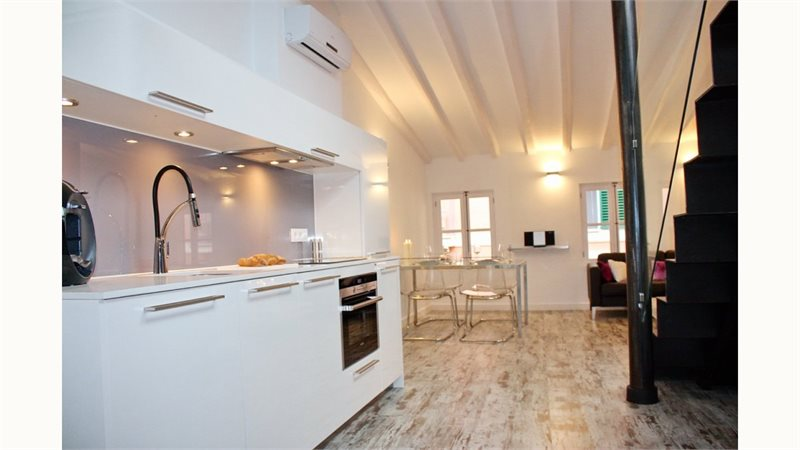 Living area: 75 m² Bedrooms: 2  - Apartment in Palma #12649 - 3
