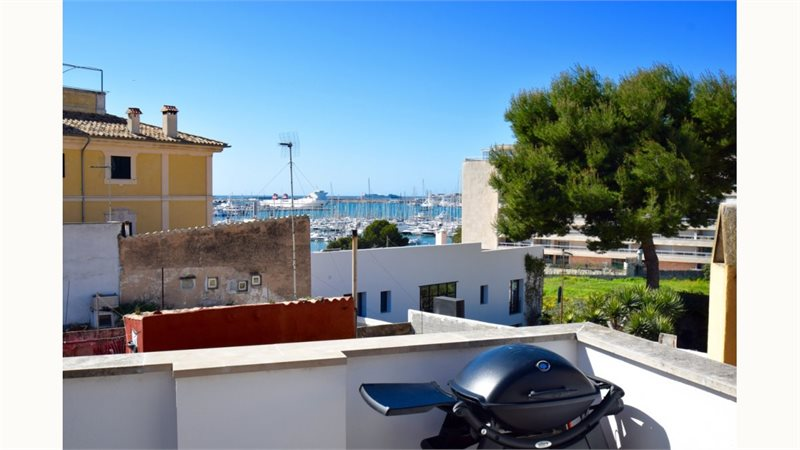 Living area: 110 m² Bedrooms: 2  - Penthouse in Palma Santa Catalina #12932 - 1