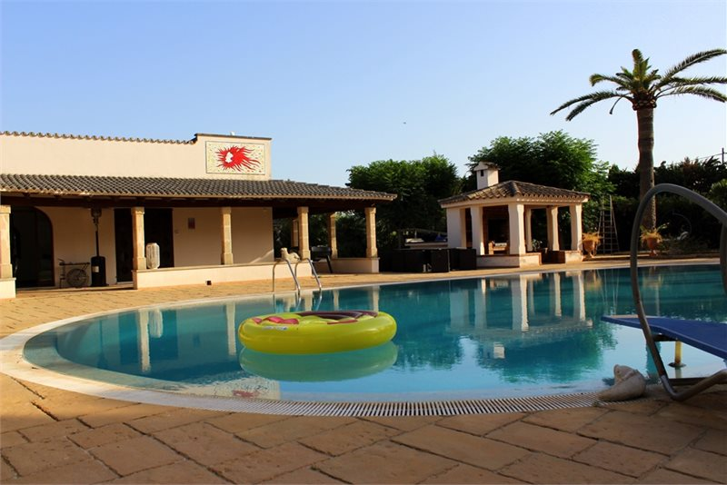 Living area: 940 m² Bedrooms: 6  - Finca in Establiments #12179 - 6