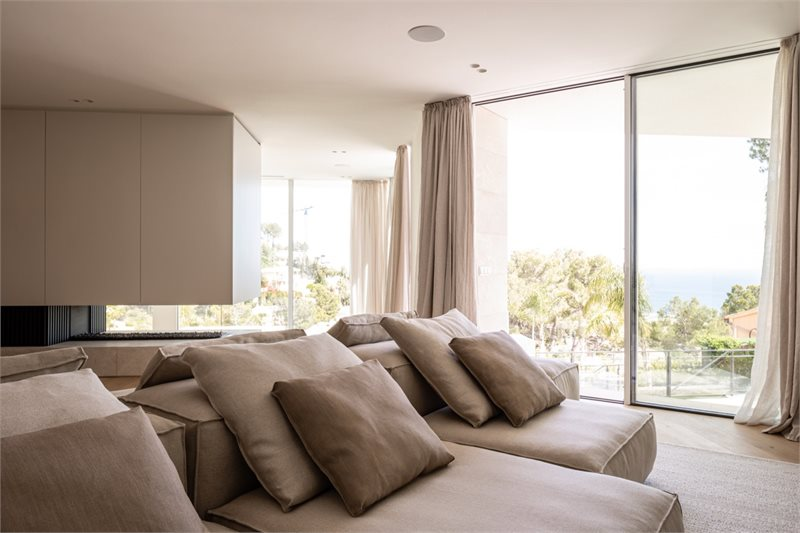 Living area: 435 m² Bedrooms: 4  - Villa in Costa d'en Blanes #02195 - 20