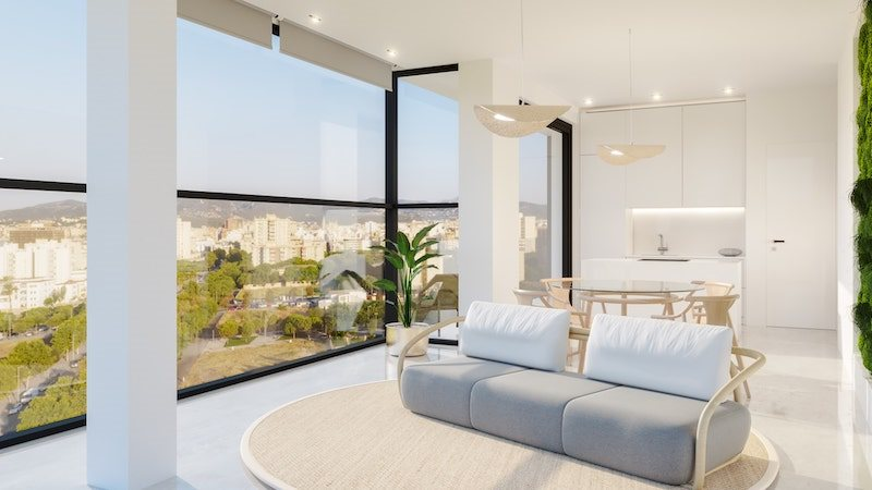 Living area: 239 m² Bedrooms: 3  - Penthouse in Palma #02224 - 16