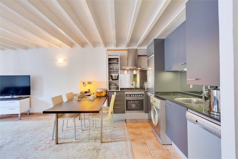 Living area: 75 m² Bedrooms: 2  - Apartment in Palma #12649 - 1
